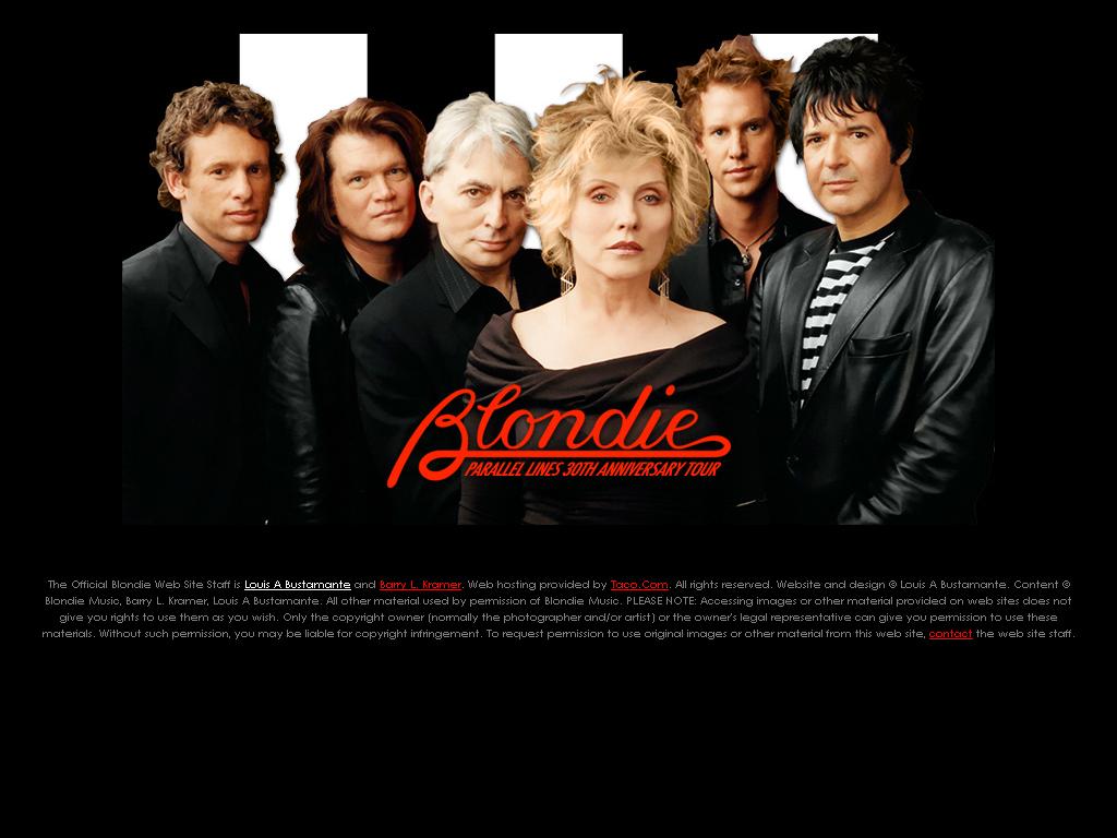 Blondie Th Anniversary Tour Dates